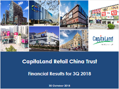 Financial Results for 3Q 2018